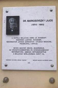 DR._MARKUSOVSZKY_LAJOS_-_OPATIJA_-_EMLEKTABLA